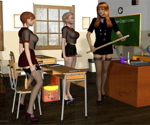 Lynortis- Dickgirl School – Detention Class