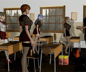 Lynortis- Dickgirl School � Detention Class