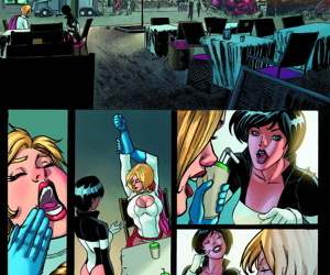 Justice league- Power Girl�s Boy Toy- Seriousfic