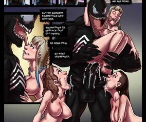 Tracy Scops- Venom Stalks Spidey