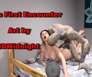 3DMidnight- Kate's Very first Encounter