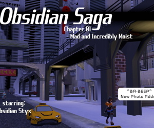 AcetheSuperVillain- Obsidian Saga- Mad and Incredibly Moist