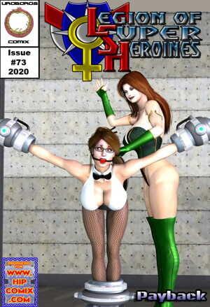 Hipcomix- Uroboros � Legion of Superheroines 73