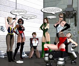 Hipcomix- Uroboros – Legion of Superheroines 73