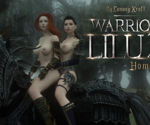 Affect3D- LanasyKroft – Warrior Lilu 2 – Homecoming