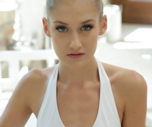 Tiny British ballerinas drink up their bodysuits be advisable for hot anal toying & rimming