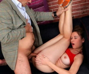 Teen student nadia bella getting screwed by old professor - part 4653