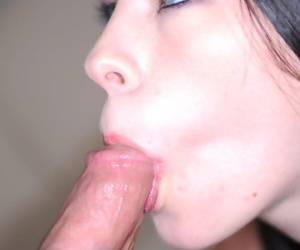 A facial added surrounding cum surrounding swallow - fidelity 4660