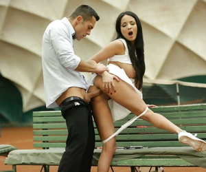European brunette anissa kate taking in her young butts - part 4566