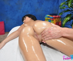 Mandy seduced and fucked hard by her massage therapist - part 4776
