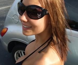 My girlfriend posing in her bikini by the pool - part 4313