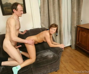Teen student judy jensen screwed and jizzed hard by old instructor - decoration 1398
