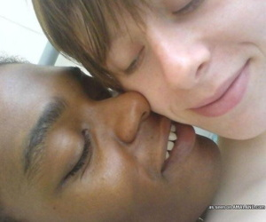 A handful of gung-ho girlfriends love outcast interracial making out - part 4286
