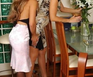 Lesbian sex games be advantageous to of age and teen maids - fastening 4694