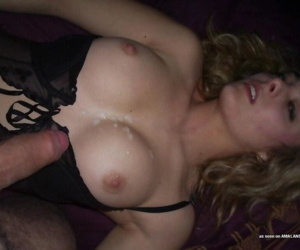 Collection of naughty chicks loving their boyfriends jizz - part 4492