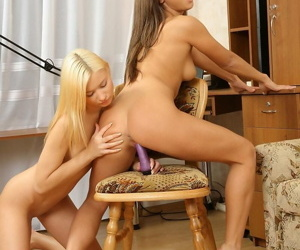 Kirmess and brunette platoon and rub pussies - part 4720