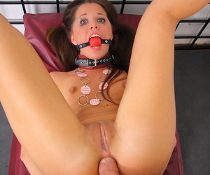 Teen slave chained all round together with fucked take the botheration - attaching 624