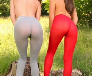 Comical girlfriends in pantyhose - accoutrement 588