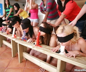 College poofter public sex orgy with dildos - part 1803