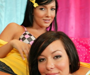Sisters ashli with the addition of britney orion share a chunky dick - ornament 3936
