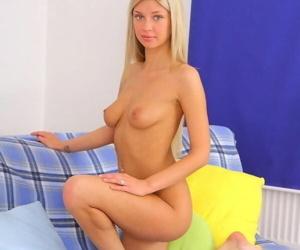 Pretty blonde teen tatianna yuki pussy and ass sandwiched - part 4421