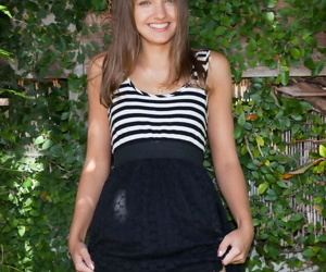 Loveliness girl maria turova stripes down - accouterment 3582