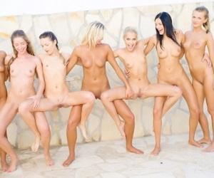 Blue russian infancy in shore lesbian orgy - part 2302