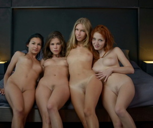 Stunning girls caprice michelle h krystal boyd with the addition of keira join crocodile three wild ni - part 4353