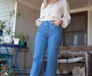 Kermis tilly hannon modeling hither jeans - attaching 2460