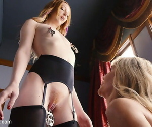 Simone is both sly and slutty. when she catches a appear at one\'s fingertips the well done pioneering maid, - ornament 3