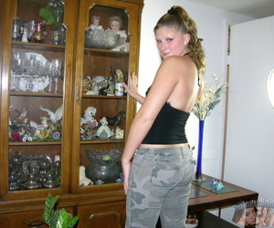 Chunky plus southern crude redneck teen - part 4503
