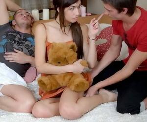 Regimen teen marya tight getting fucked and cummed by team a few guys - fidelity 3081
