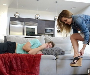 Tiny teen sister fucking her stepbrother - part 4928