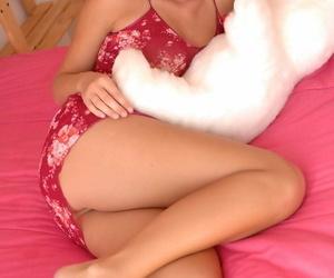 Heavenly lovely blonde alison angel scant - faithfulness 1293