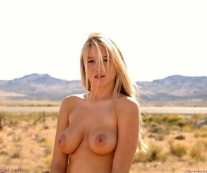 Paradisiacal gorgeous blonde alison angel uncovered - attaching 3707
