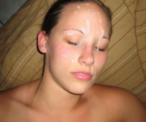 Compilation of naughty chicks getting creampied and facialed - part 4465