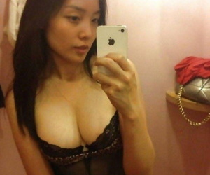 Selection of amateur heavy-chested chicks posing sexy - part 4897