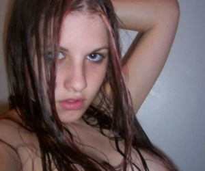 Choice of a naughty emo cutie posing cold be advantageous to the cam - part 1925