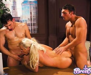 Bree olson and nikki anne enjoy a wild office orgy - part 3834