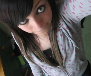 Self-shots be required of emo adolescence looking cute - affixing 4635