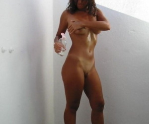 Compilation of naked girlfriends posing sleazy outdoors - part 4400