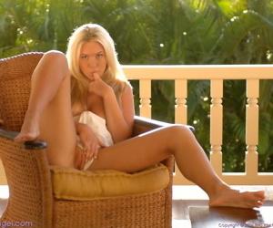 Paradisaic gorgeous blonde alison angel barren - part 3484