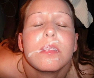 Compilation of naughty amateur chicks loving messy jizz - part 4046
