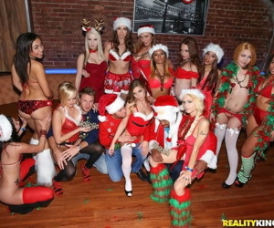 Christmas sex party with this score be beneficial to horny sluts - fixing 4229