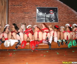 Christmas sex party with this group of horny sluts - part 4229