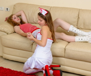 Good girl emily plays a nurse to her sick girlfriend - part 3935