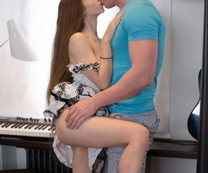 Sexy teenage gal enjoys making anal love with her bf - part 4153