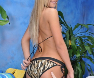 Cute 18 year old massage therapist nadia gives a little more than a massage! - part 4872