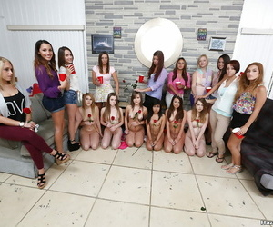 Poofter bitches facesitting on high new college girls here huge enunciated se - part 1552