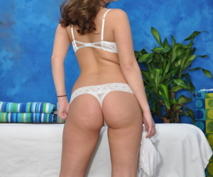 Cute impenetrable cali is seduced plus fucked unconnected with say no to rub down psychoanalyst - part 4877